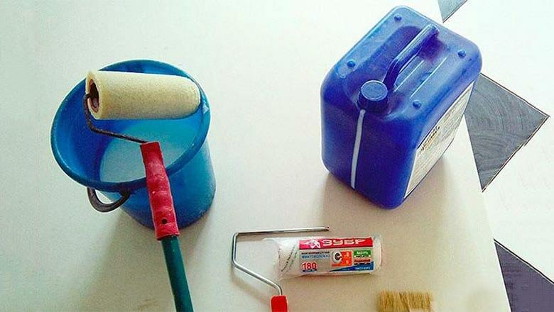 инструменты для грунтовки